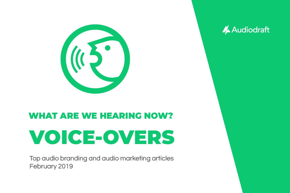 What are we hearing now? Voice-overs