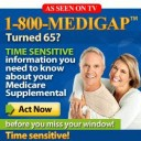 30 & 60 second radio AD for national ad 1-800-MEDIGAP