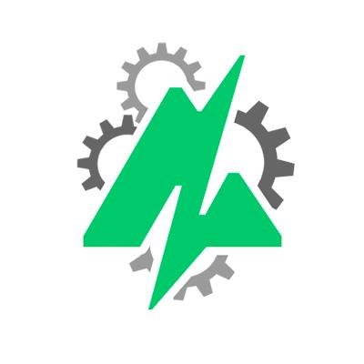 The Audiodraft logo over cog wheels